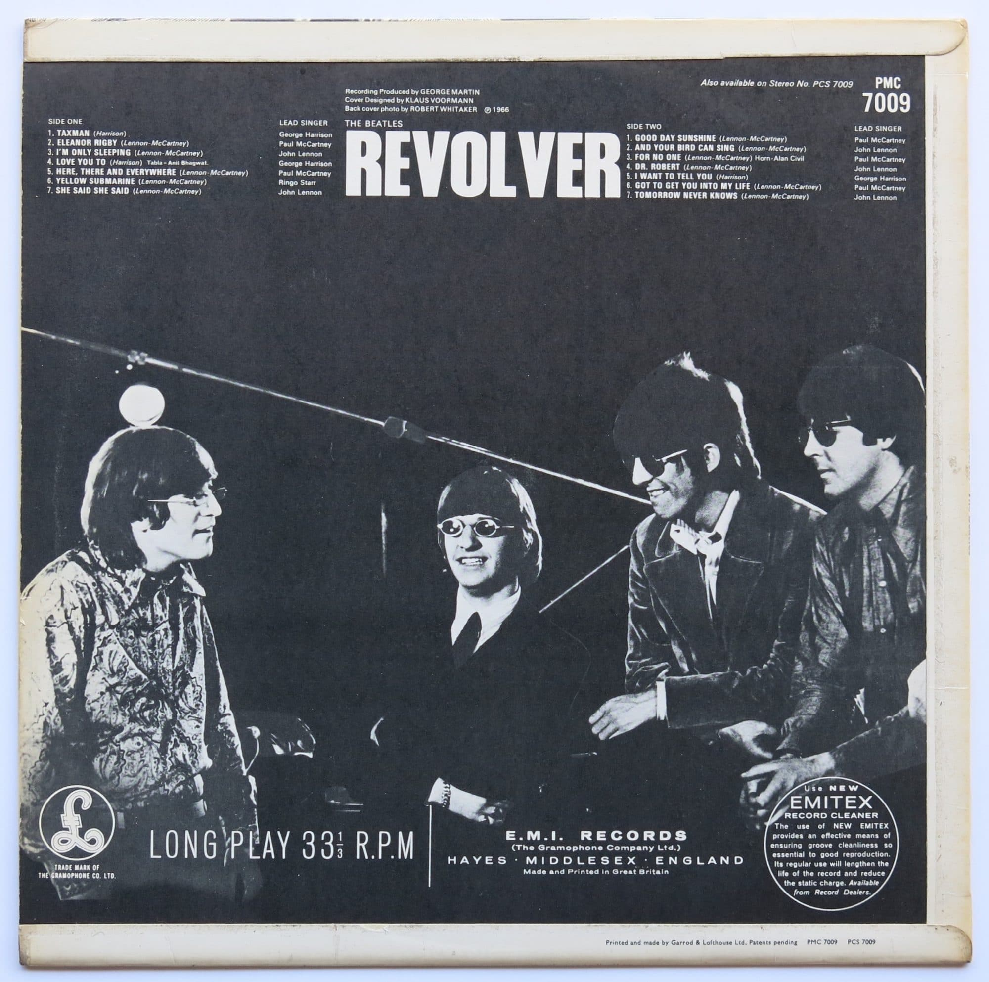 "The Beatles – UK Mono 1st Press ""Revolver"" LP With Alternate"