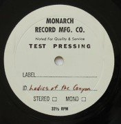 "Joni Mitchell – Joni's Personal A&M-Pressed ""Ladies of the Canyon"" Test Pressing LP (Made before master tapes turned in to Reprise)"