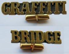 GraffitiBridge cuff links