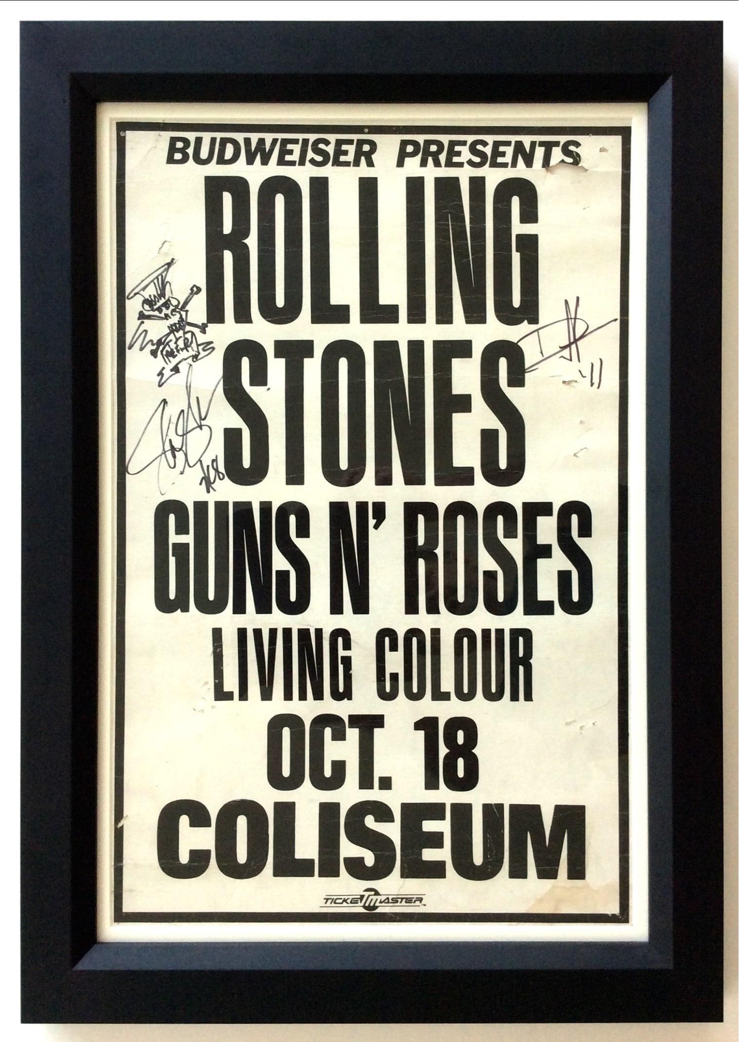 Rolling Stones / Guns N\' Roses – LA Coliseum Boxing-Style Concert ...