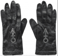 "Prince – Stage and Video Worn ""Love Symbol"" Gloves (From ""My Name Is Prince"" Video)"