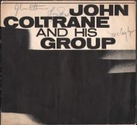 John Coltrane Quartet – Signed 1963 Concert Program