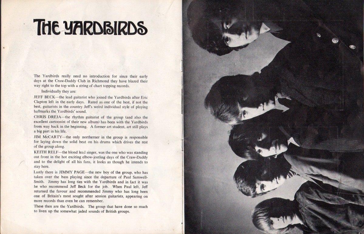 Rolling Stones Superb Signed 66 Uk Concert Program