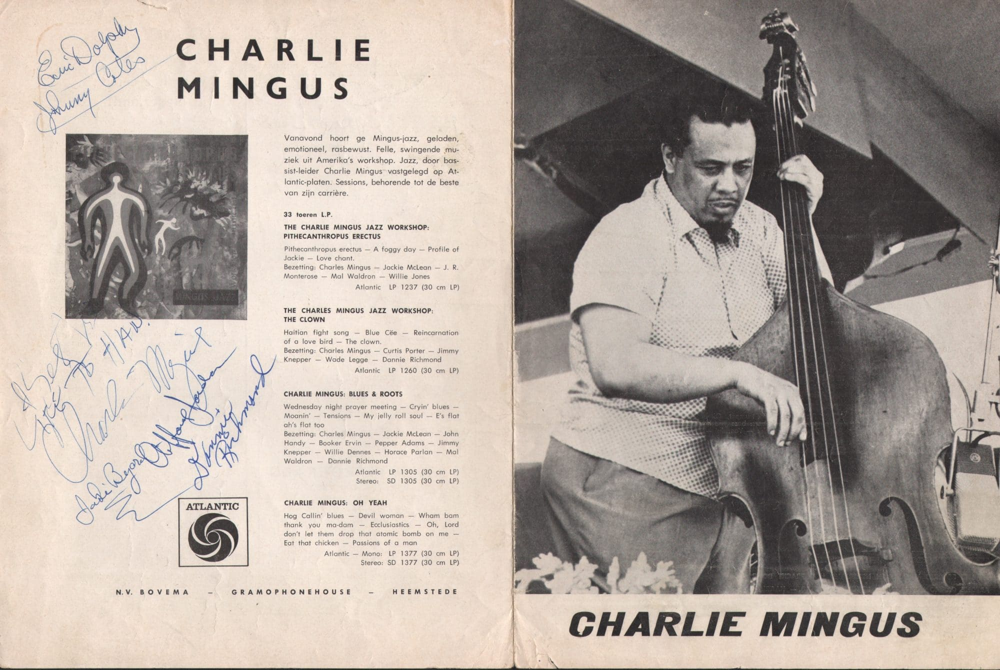 Charles Mingus Sextet - Orange Was The Colour Of Her Dress
