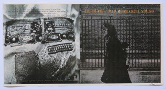 """Neil Young – 1970 """"After The Gold Rush"""" Album Cover Proof, Signed by Photographer"""