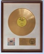 "Jimi Hendrix – Mitch Mitchell's ""Axis: Bold as Love"" RIAA White Matte Gold Record Award, With Full Authentication"