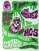 MC5 / The Woolies – Mint, Signed Grande Ballroom 1966 Concert Poster