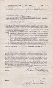 Otis Redding – Signed 1963 Publishing Contract With Stax (Also Signed By Jim Stewart )