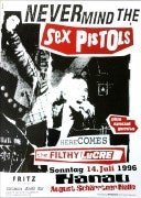 Sex Pistols – 1996 German Concert Poster