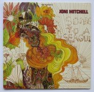 "Joni Mitchell – Sealed Original Press ""Song To A Seagull"" Archive LP"