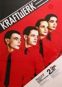 "Kraftwerk – 1981 German Concert Poster ""Man Machine"" Tour"