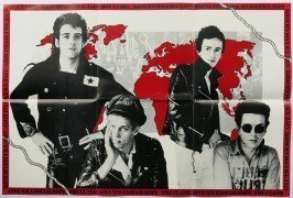 "The Clash – Rare UK ""Give Em Enough Rope"" Double Sided Promo Poster"