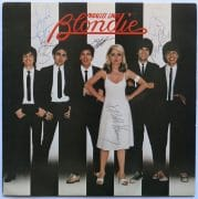"Blondie – Fully Signed ""Parallel Lines"" LP With All 6 Band Members"
