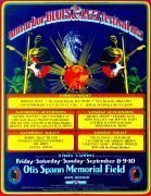 1972 Ann Arbor Blues Festival Poster – Howlin' Wolf / Sun Ra / Muddy Waters / Miles Davis / Charles Mingus