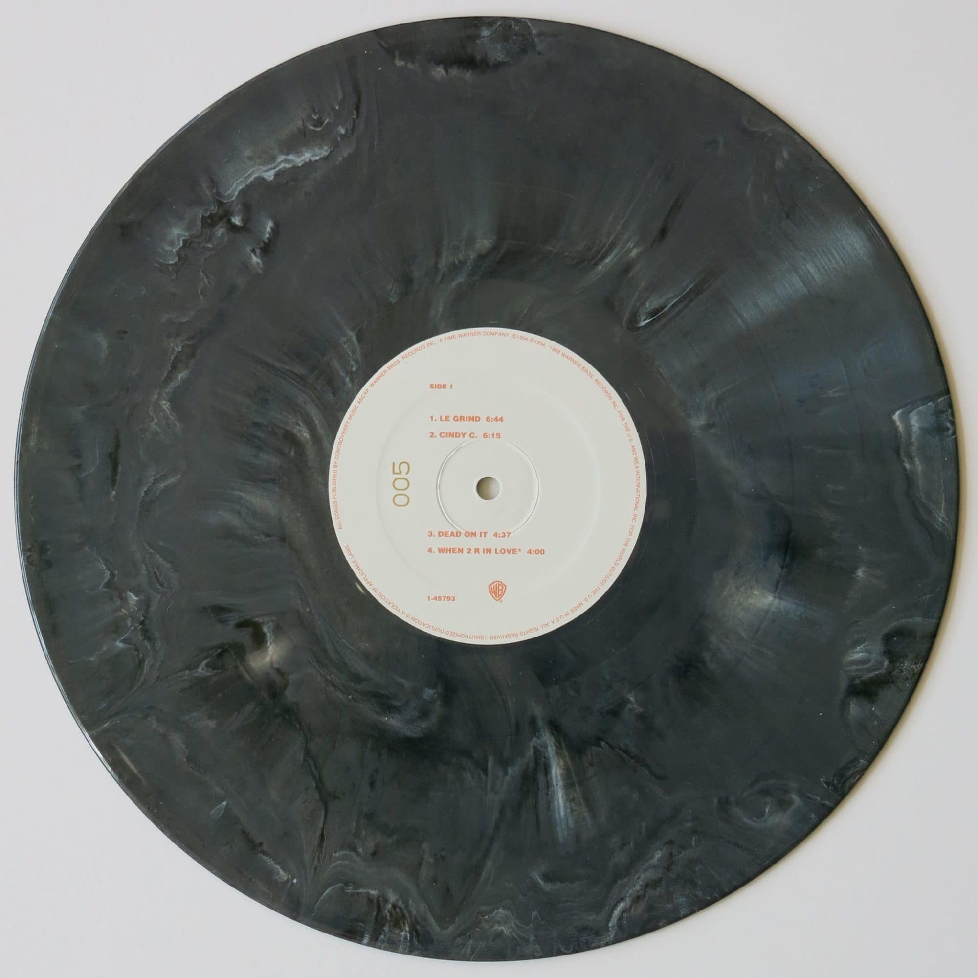 Prince the black album 5 of 50 greymarbled vinyl copies biocorpaavc Choice Image