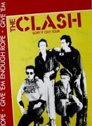 "The Clash – Fully Signed 1978 Concert Poster from UK ""Sort It Out"" Tour"