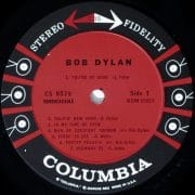 "Bob Dylan – Unplayed Mint Stereo ""Six-Eye"" 1st Pressing Debut Album; An Impossible Rarity"