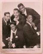 The Temptations – Signed Gordy Records 1960's Promotional Photograph