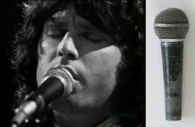 The Doors – Jim Morrison Stage Used Shure Microphone With Road Manager Authentication, Lifetime Guarantee