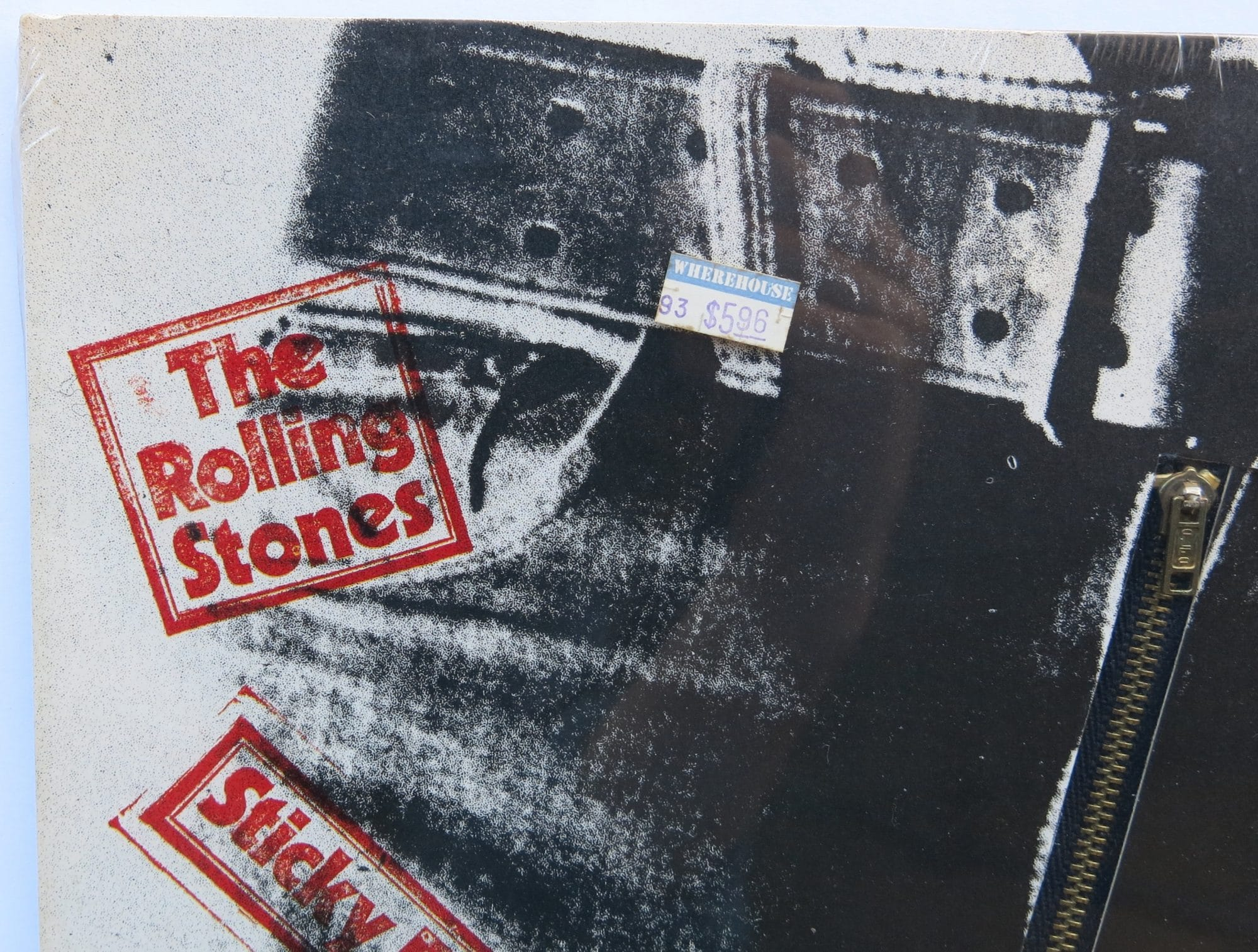 Rolling Stones Sticky Fingers Uk First Sealed Lp