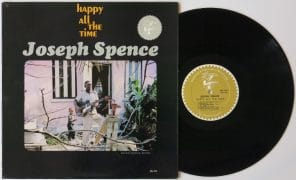 "Joseph Spence – Near Mint 1964 Elektra 1st Pressing ""Happy All The Time"" LP"