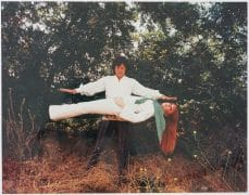 Jim Morrison / Doors – Color 11″x14″ Photograph of Morrison Levitating Pamela Courson