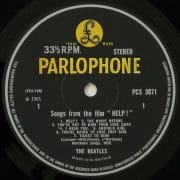 "The Beatles – 1969 UK Stereo 3rd Pressing ""HELP!"" Mint Yellow & Black Parlophone"