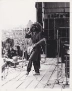 Led Zeppelin – Jimmy Page Bath Festival 1970 Vintage Photograph