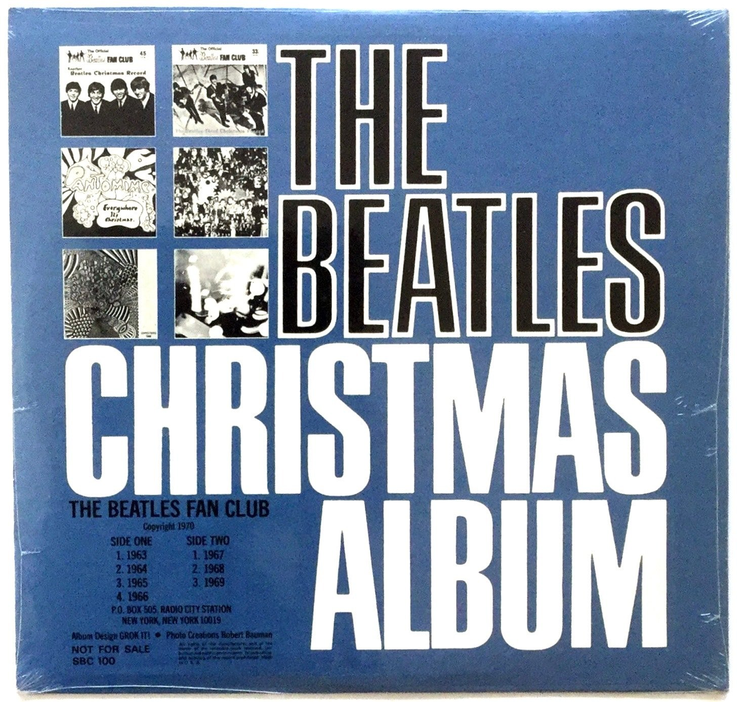 The Beatles Christmas Album.The Beatles Sealed Original Beatles Christmas Album Lp
