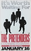 "The Pretenders – 1984 Boxing-Style ""Learning To Crawl"" Promo Poster"