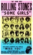 "The Rolling Stones – Rare 1978 ""Some Girls"" Boxing-Style Promo Poster With Banned Artwork"
