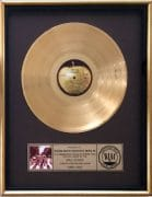 The Beatles – Abbey Road RIAA Gold Record Award Presented To The RIAA (With Full Authentication)