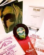 "The Stooges – Iggy Pop Signed ""Total Chaos"" Limited Edition Book, With Unreleased Single, More"
