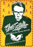 Elvis Costello – 1977 Bottom Line Concert Poster (1st U.S. Tour)