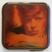 "David Bowie – 1975 RCA Records ""Young Americans"" Promotional Belt Buckle"