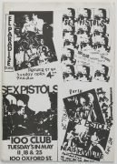 "Sex Pistols – Ultra Rare May 1977 Glitterbest Press Kit, Issued with ""God Save the Queen"" Release"