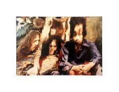 "Jimi Hendrix Experience – ""Mylar Chamber"" Original Photograph by Ira Cohen"