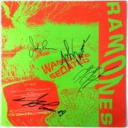"The Ramones – Fully Signed 1988 ""I Wanna Be Sedated""  Promo Only 12″ EP"