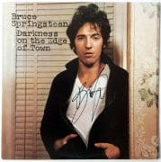 Bruce Springsteen – Signed 'Darkness on the Edge of Town' LP With Roger Epperson COA