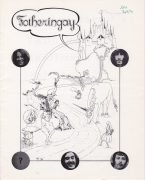Nick Drake – Rare 1970 Fotheringay Tour Program (from Nick Drake's Only Tour)