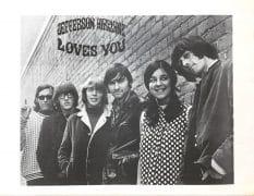 "Jefferson Airplane -1966 ""Loves You"" Promo Poster Signe Anderson Fillmore Era"
