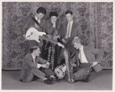 David Bowie – 1963 Photograph of Bowie's First Band, The Konrads