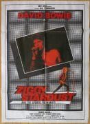 "David Bowie – Huge 1st Printing ""Ziggy Stardust"" Italy Movie Poster (1984)"