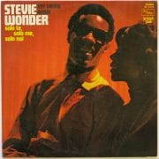 "Stevie Wonder – Italy Only LP With Songs Sung In Italian ""My Cherie Amor/Solo Te, Solo Me, Solo"""