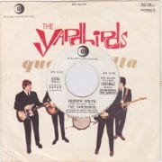 "The Yardbirds with Jeff Beck – Rare White Label Promo ""Questa Volta"" Sung in Italian 45"