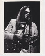 Neil Young – Vintage Live at Royal Festival Hall Photograph by Michael Putland