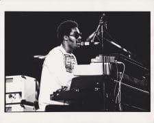 Stevie Wonder  – Vintage Live Photograph by Neil Jones