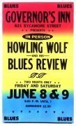Howlin' Wolf – 1973 Boxing Style Concert Poster & Original Show Photographs, Negatives