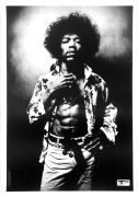 Jimi Hendrix – Extremely Rare 1967 UK Track Records Promotional Poster (Osiris Visions)