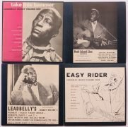 "Leadbelly – Complete Set of 1950's Folkways 10″ Albums ""Leadbelly Legacy"" Vol. 1-4"
